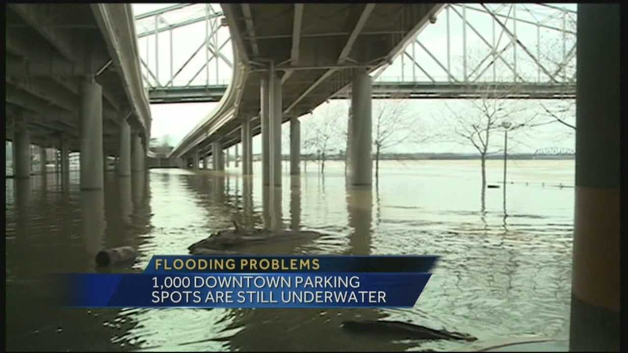 Many businesses are concerned with flooding downtown, just days before NCAA tournament.