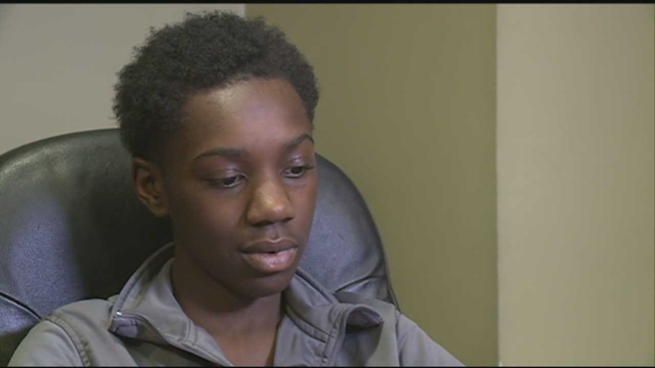 A teen shooting victim spoke out on youth violence Tuesday, a day after another teen was injured by gunfire in west Louisville.