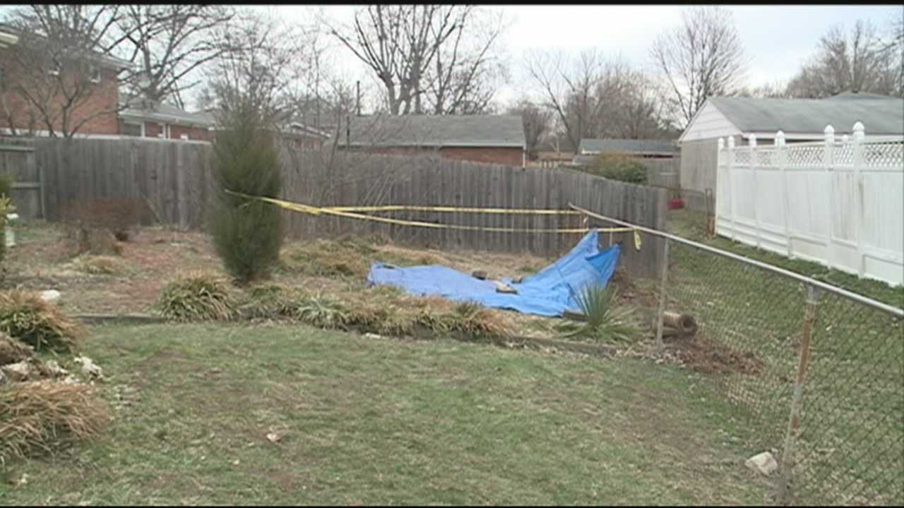 A 73-year-old Louisville woman was found dead in an old septic tank Tuesday night.
