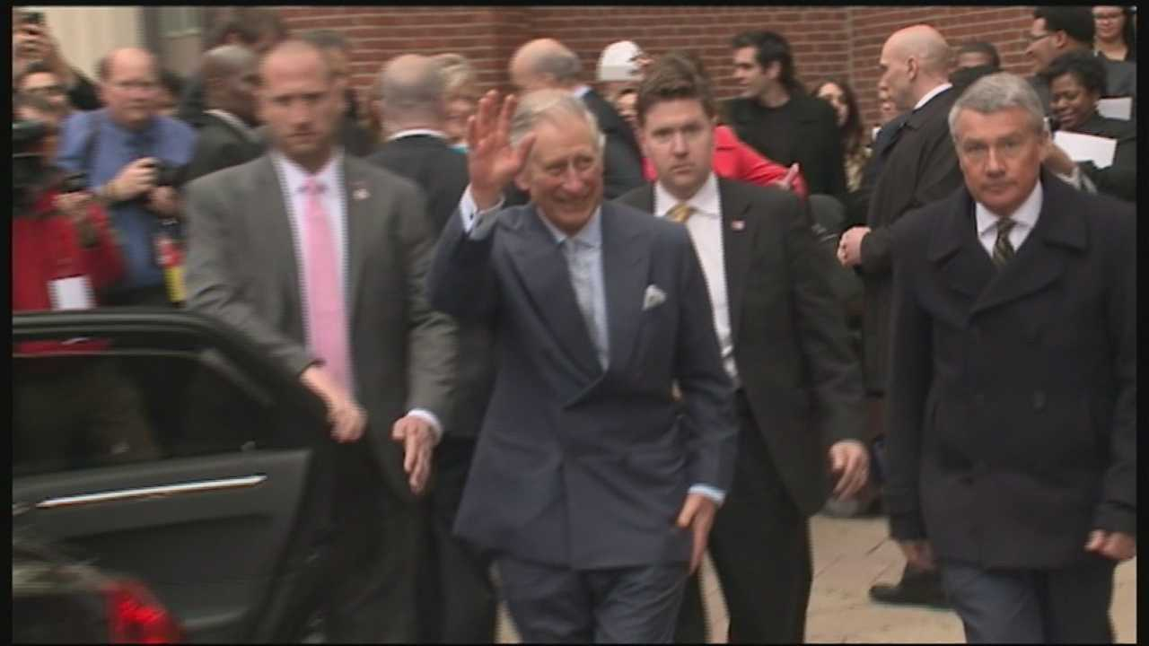 Prince Charles, Camilla wrap up U.S. visit in Louisville