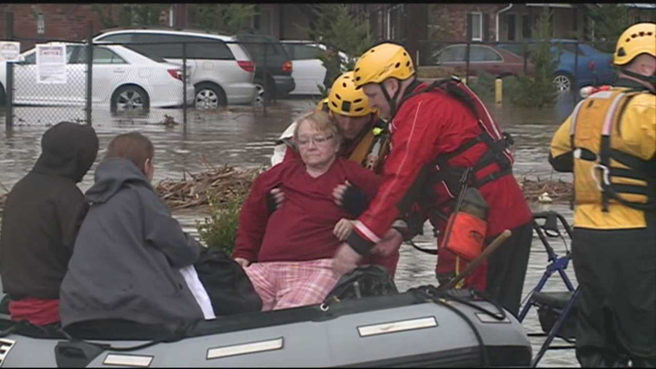 Firefighters rescued hundreds of people Friday. Many of them were left stranded in the Okolona area.