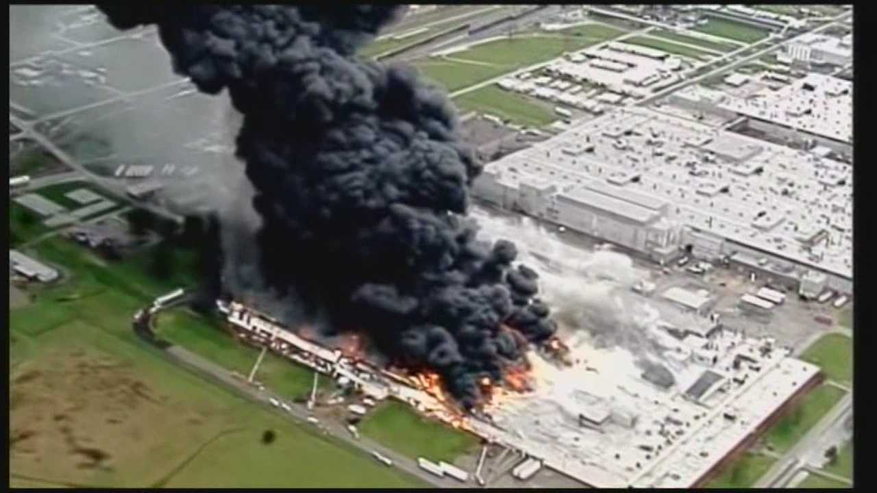 6-alarm fire breaks out at GE Appliance Park