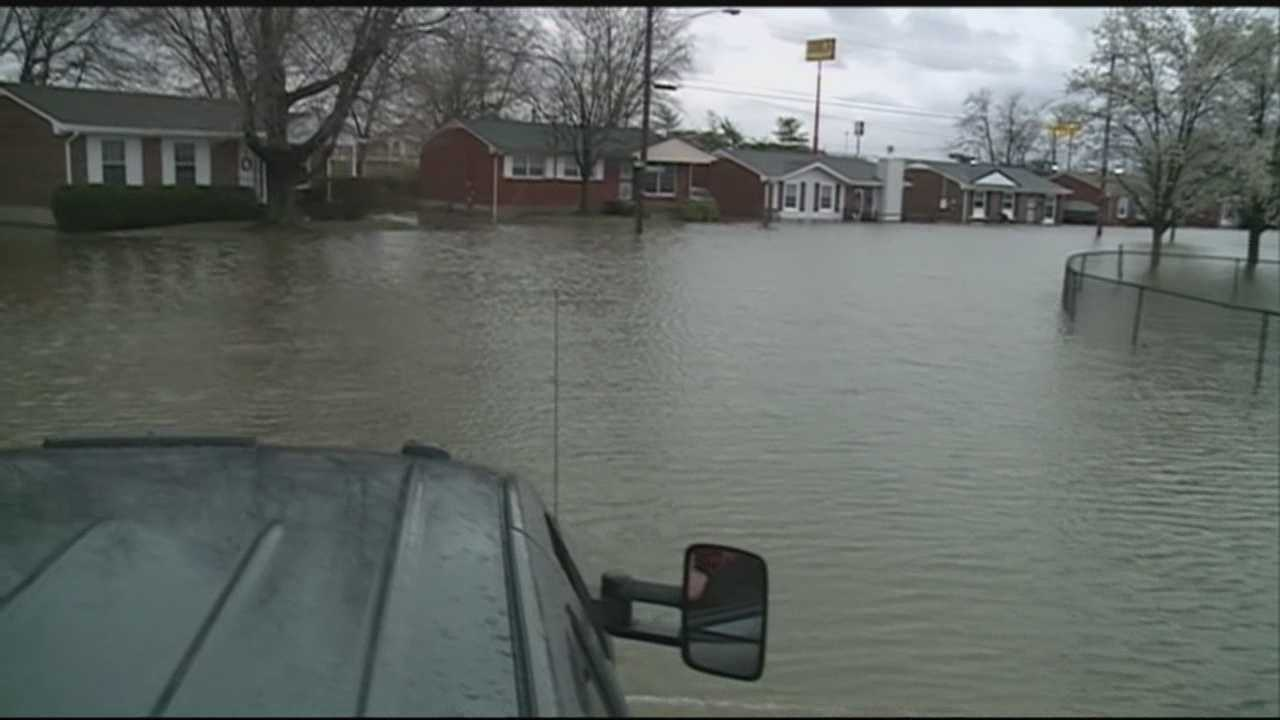 Homes, streets flooded in Okolona neighborhood