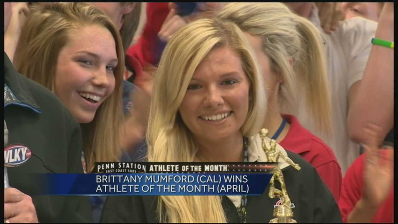 Penn Station Athlete of the Month: Brittany Mumford