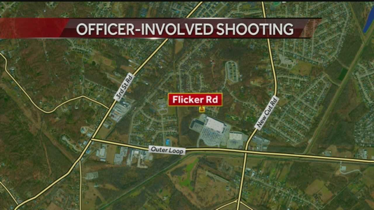 Police: One person dead after an officer involved shooting in South Louisville