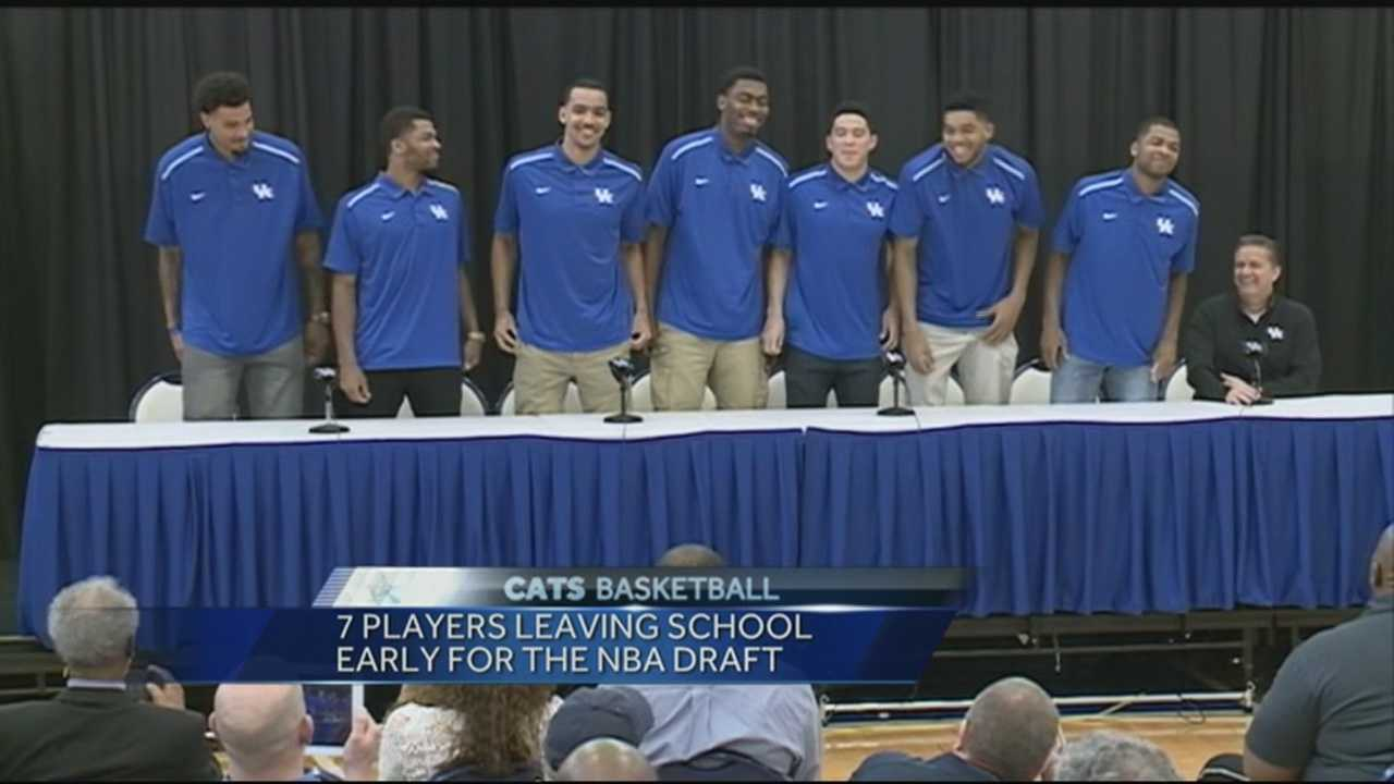 7 Wildcats announce they're entering NBA draft