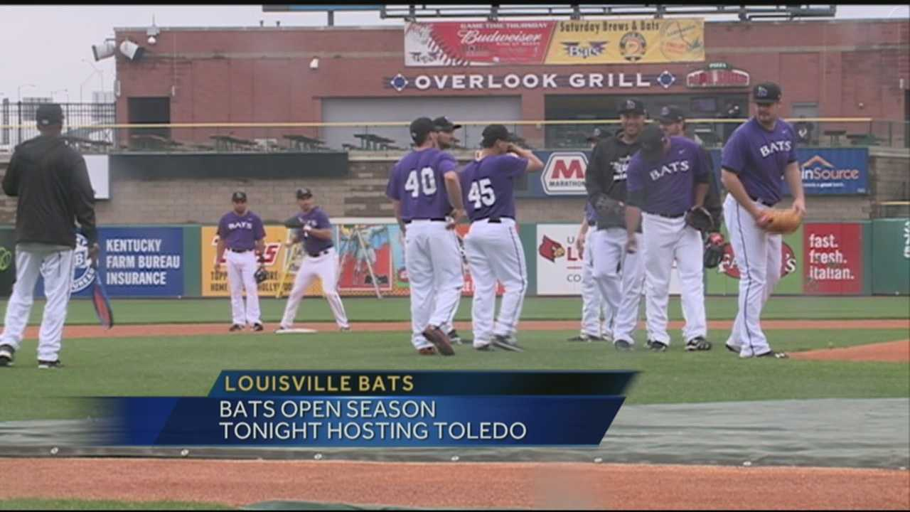 Louisville Bats open season Thursday against Toledo Mudhens