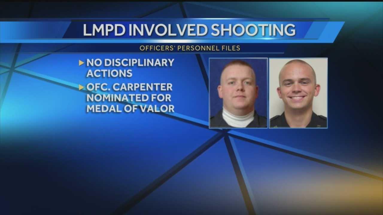 LMPD identifies officers involved in deadly shooting