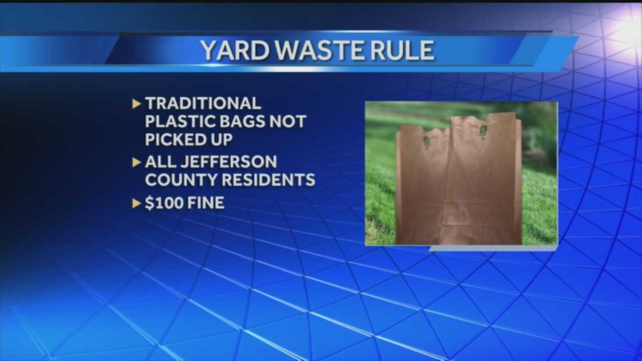 Mayor cites high compliance with new yard waste rule