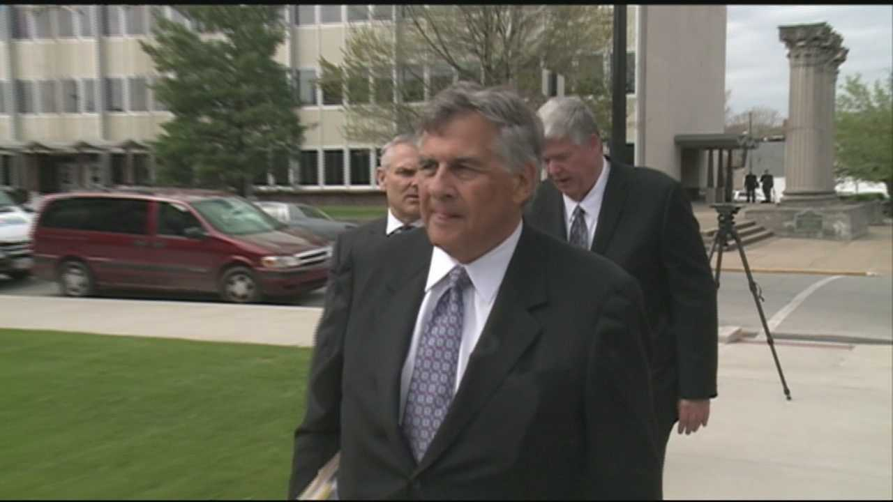 A judge sentences former Clark County Sheriff Danny Rodden on Monday after he lied to investigators about hiring a prostitute.