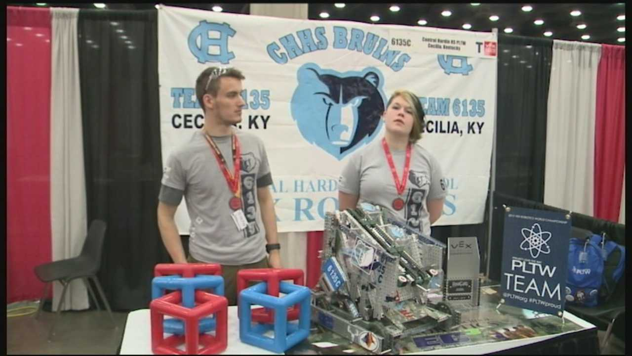 Louisville hosts Robotic Competition Championships
