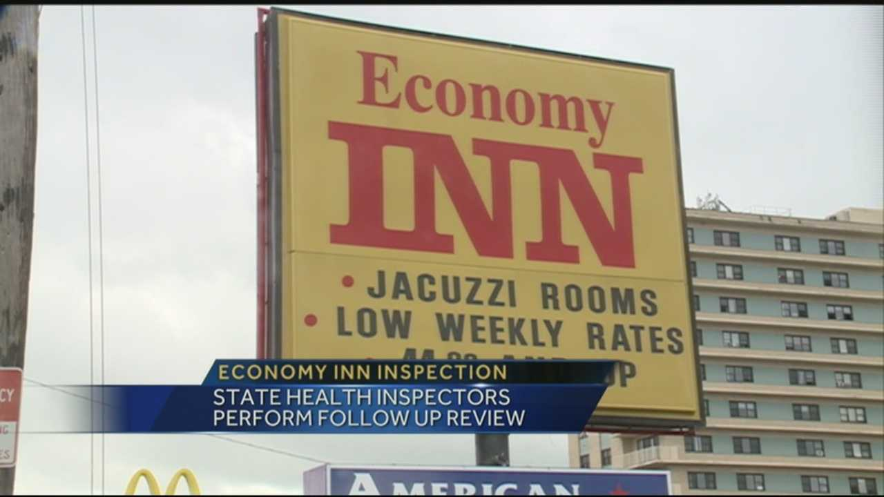 Economy Inn to undergo inspection in order to remain open