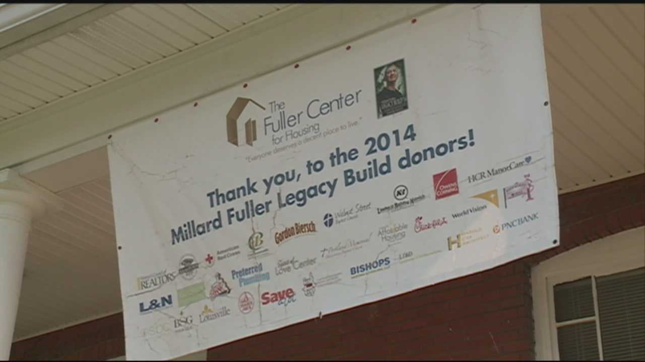 Local group remodeling homes as part of Mayor's Give-a-Day
