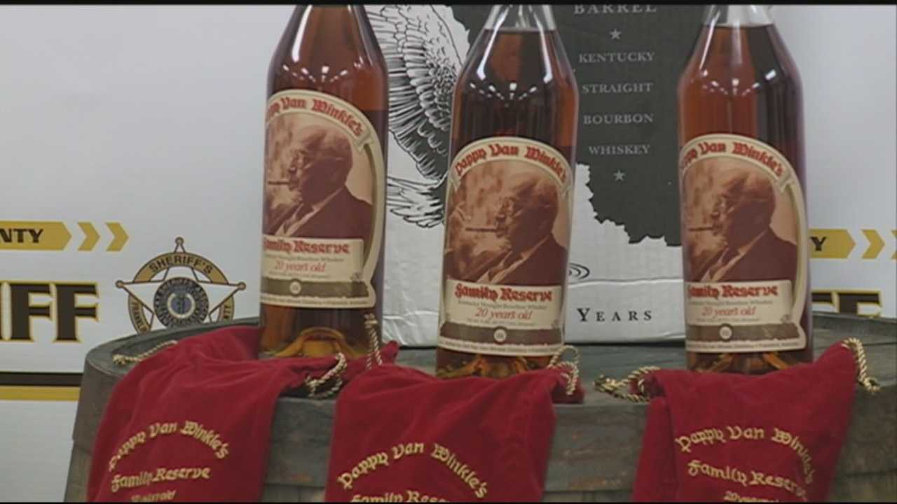Bourbon heist indictments 'tip of iceberg,' sheriff says