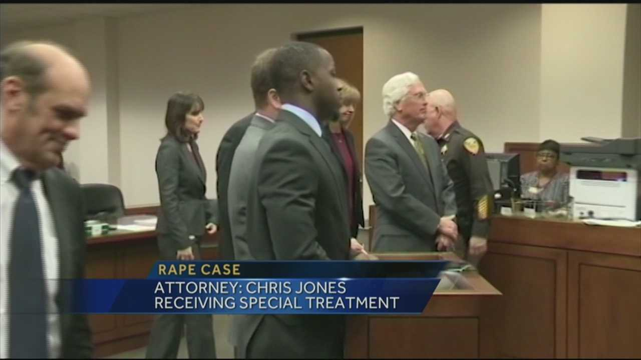 The attorneys for two women who claim they were raped by former University of Louisville basketball star Chris Jones said they have serious concerns over the Commonwealth's Attorney's Office's handling of the case.
