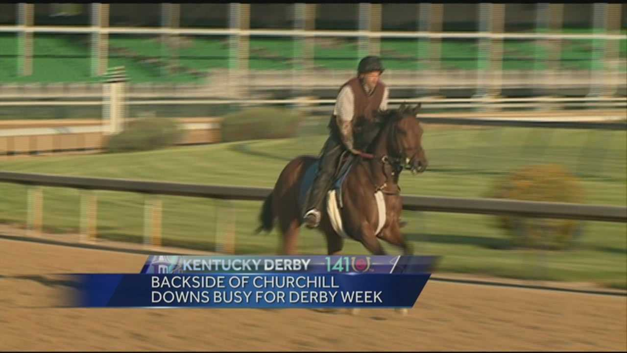 Excitement is growing at Churchill Downs as The Kentucky Derby approaches