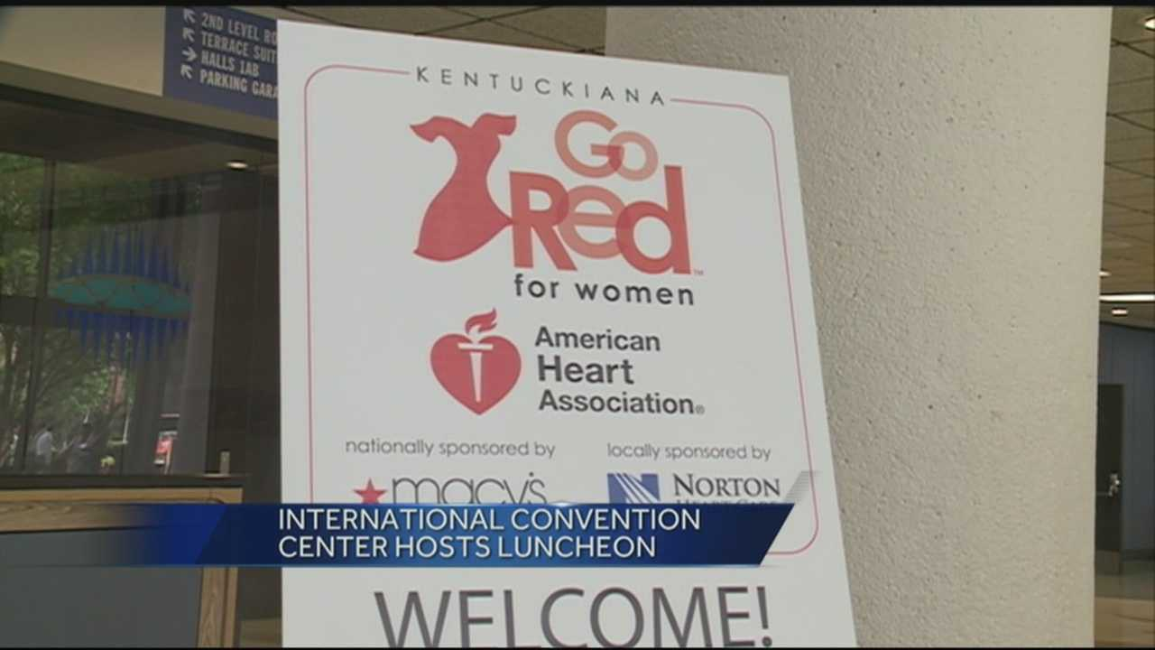 Go Red for Women luncheon held at the International Convention Center