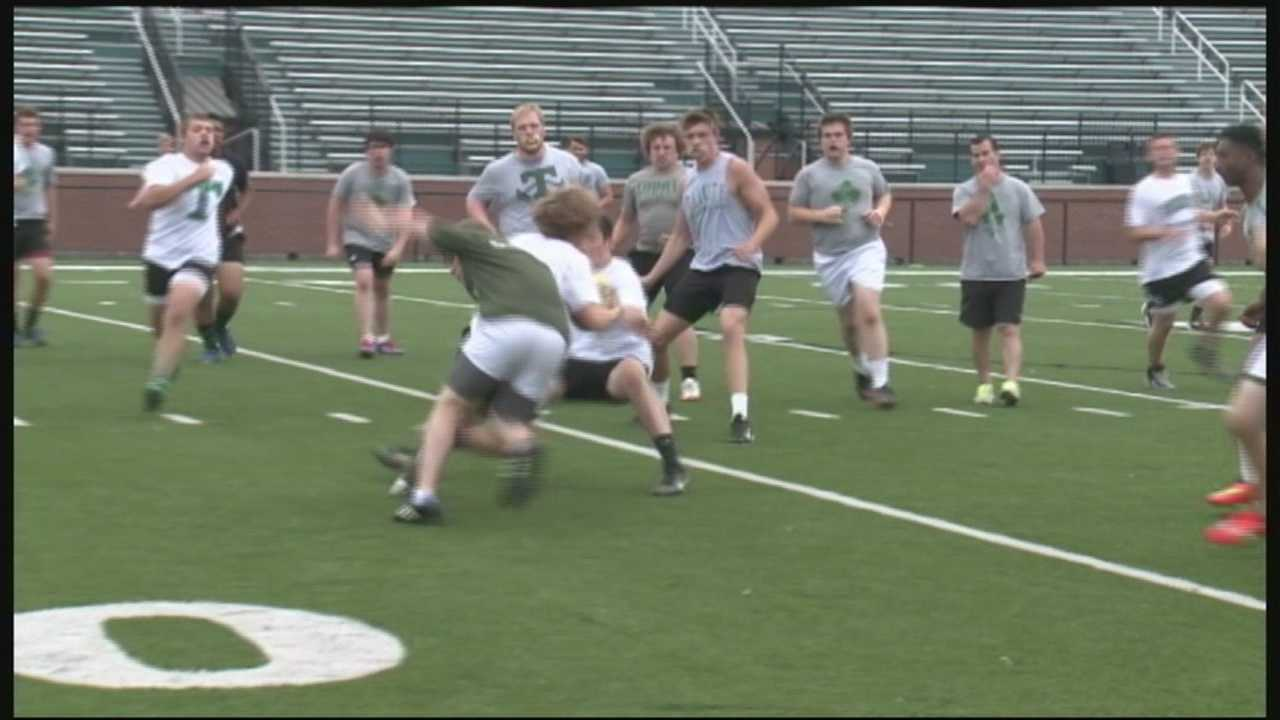 Trinity prepares for state rugby championship