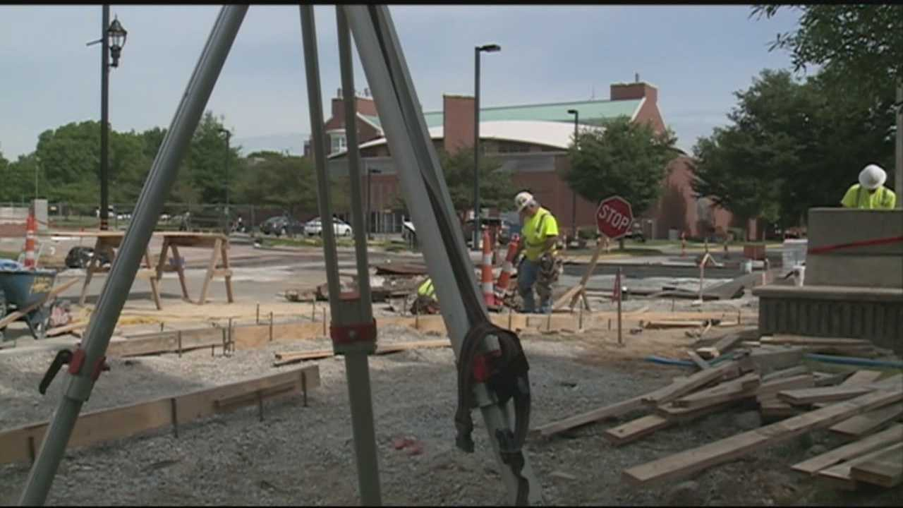 UofL summer construction project gets underway