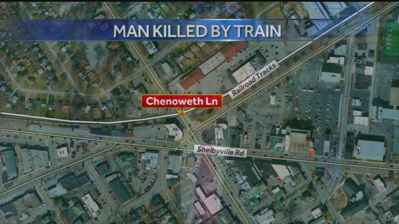 Pedestrian dies after being hit by train in St. Matthews