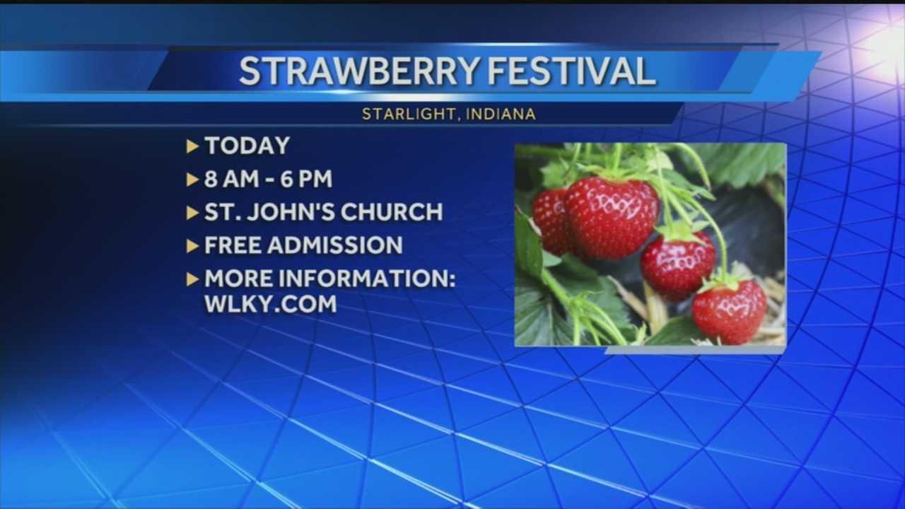 St. John's annual Strawberry Fest