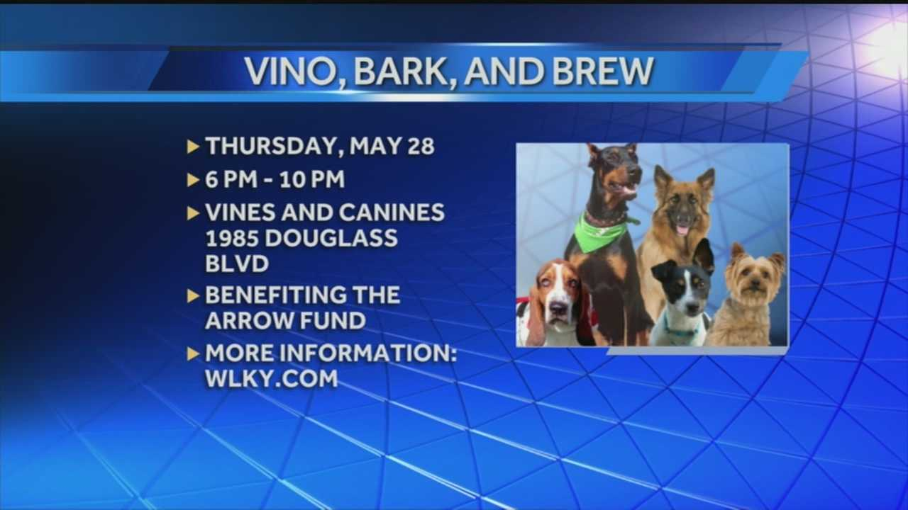 Vino, Bark & Brew party