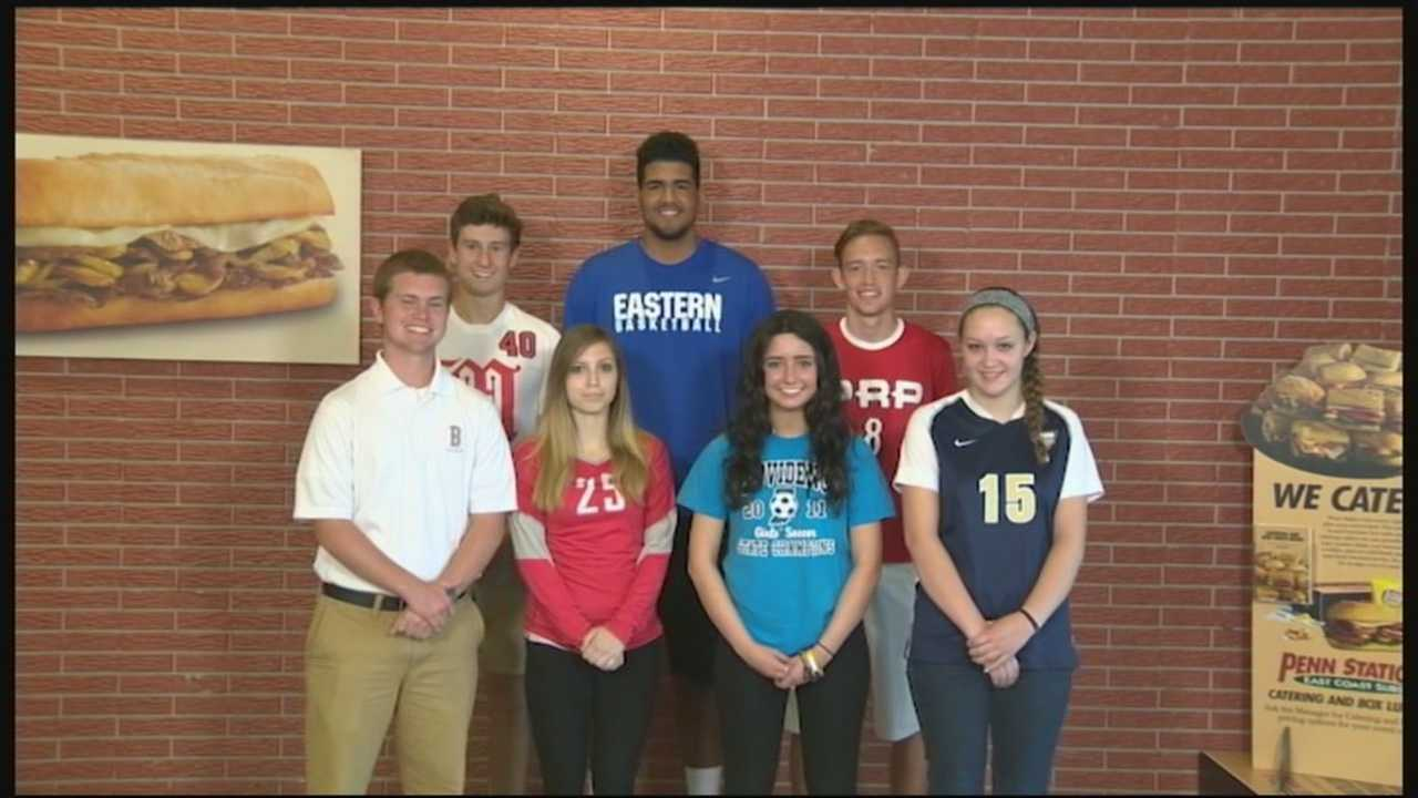 The year wrapped up with a luncheon for those eight award winners, and one was named Athlete of the Year and awarded a check for $5,000.
