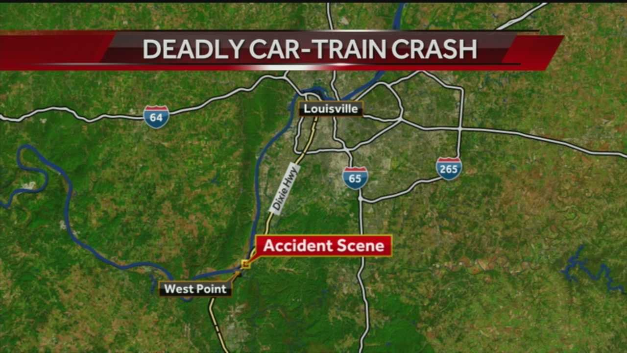 1 dead after car is hit by train