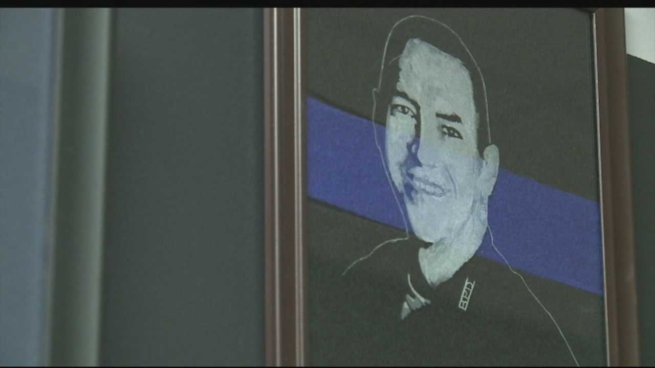 Fallen officer's memory lives on through scholarship fund
