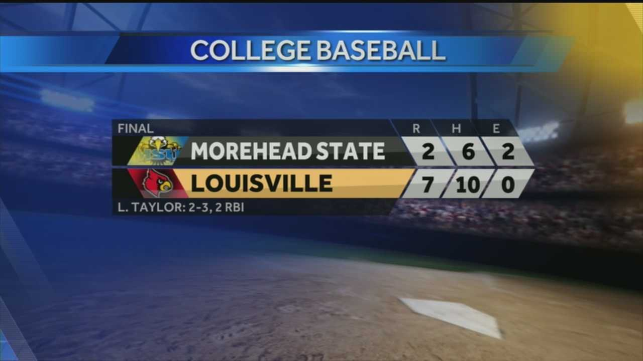UofL baseball hosts Morehead State in NCAA regional