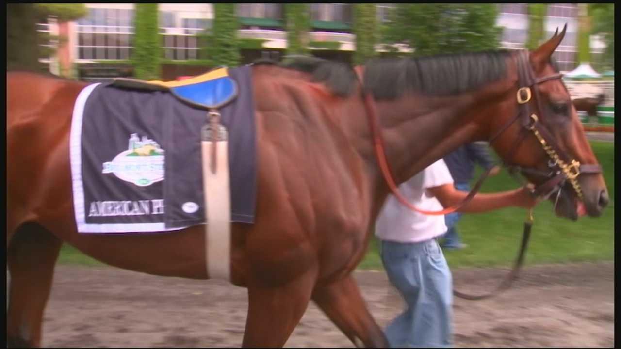 American Pharoah prepares for possible history-making race