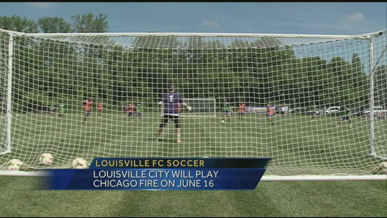 Louisville City to play Chicago Fire June 16