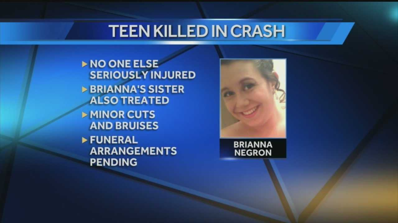 Family remembers 16-year-old girl killed in crash