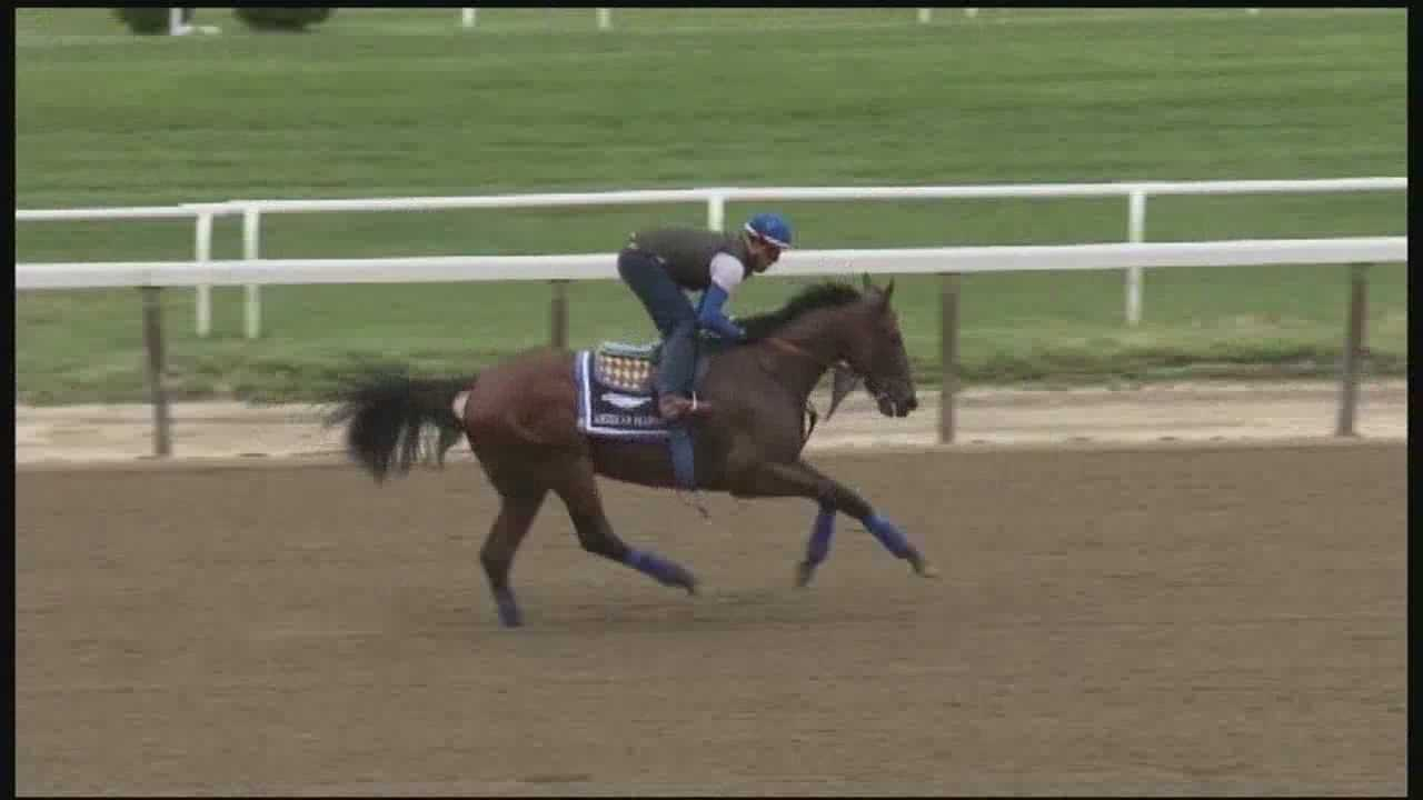 Baffert gets 4th shot at Triple Crown