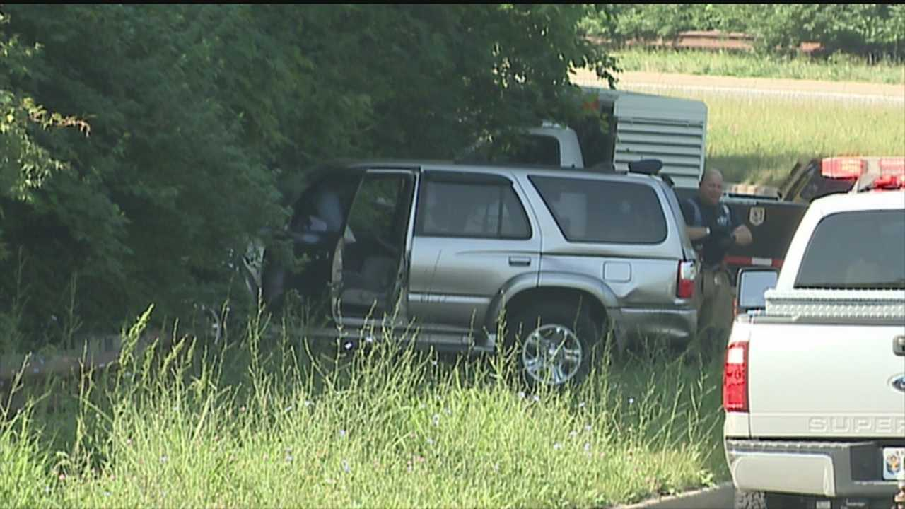 One man died Wednesday morning in a crash on South Hurstbourne Parkway.
