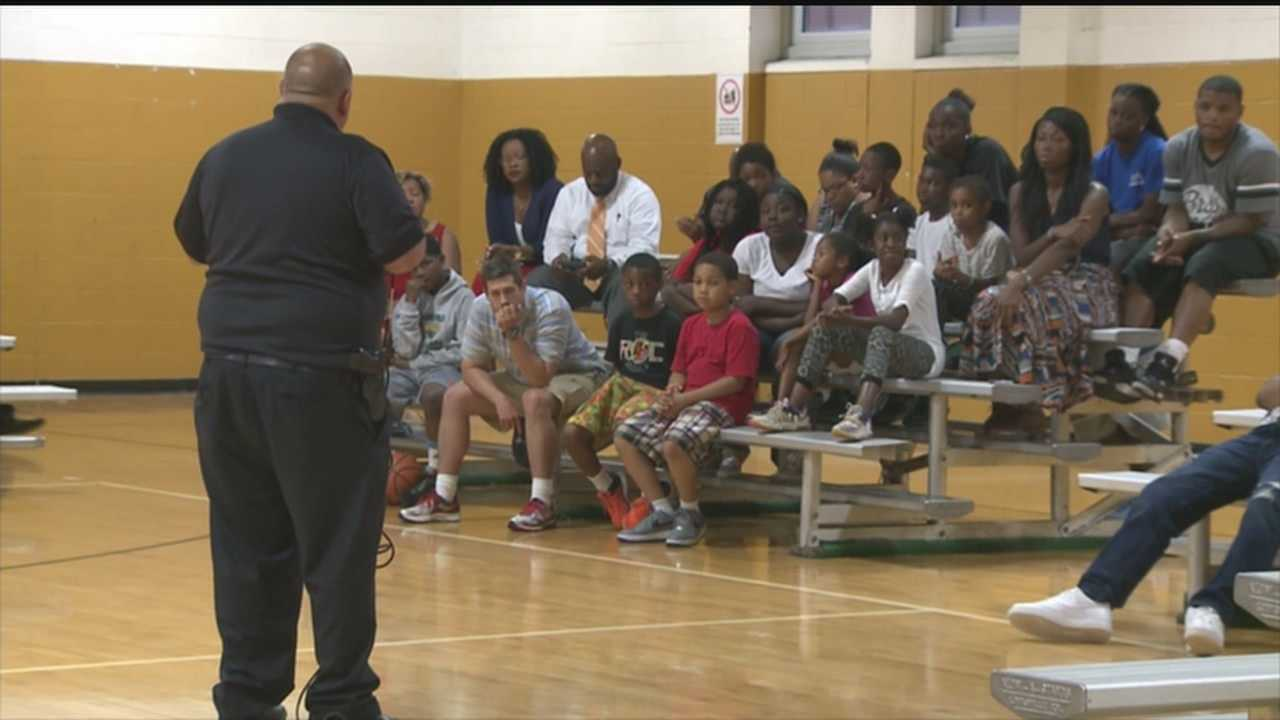 LMPD Officers hoping to improve relations with youth