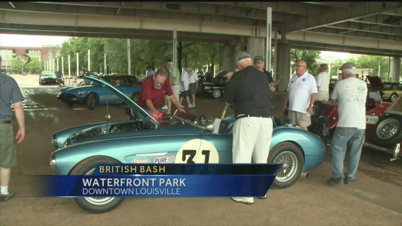 British car show held on Waterfront Saturday