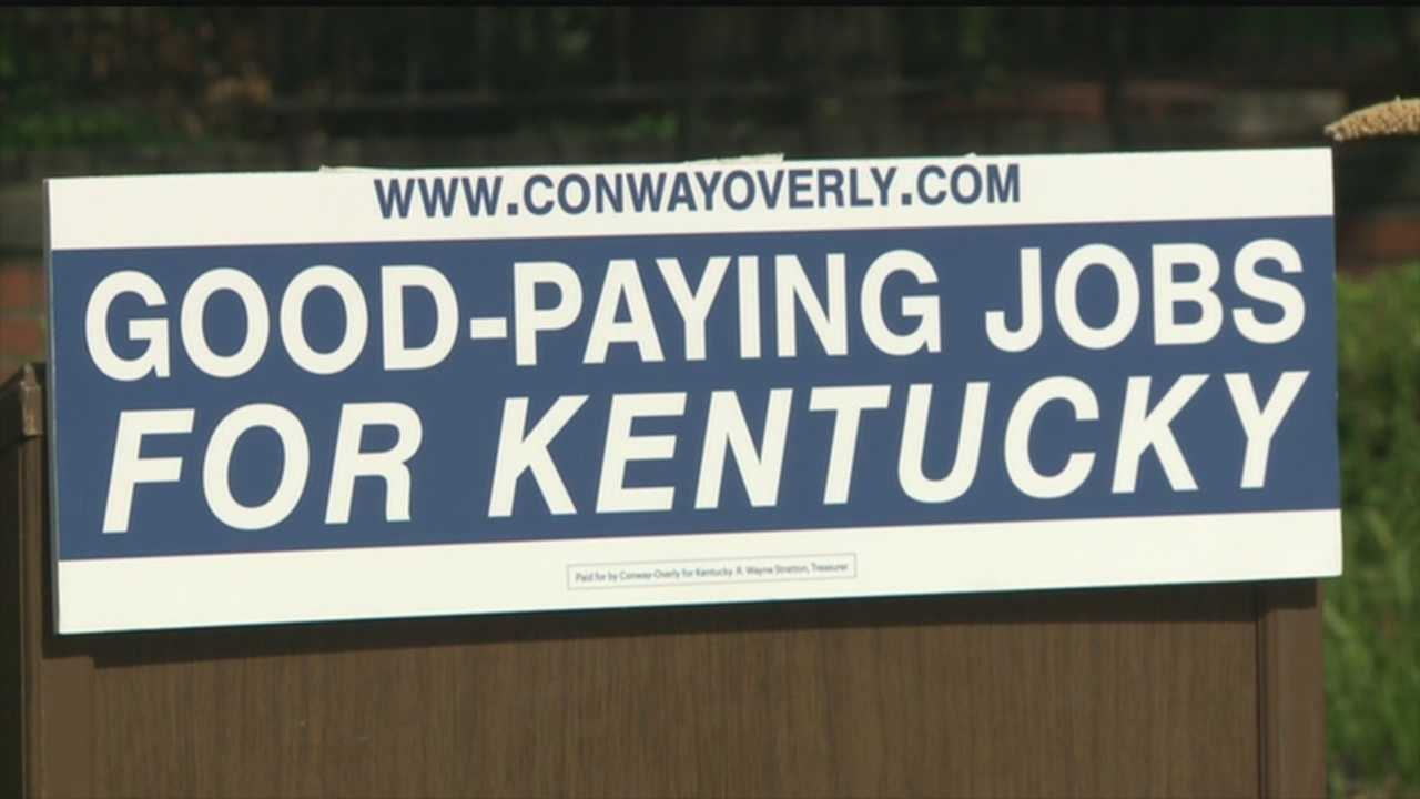 Kentucky gubernatorial candidates are talking jobs