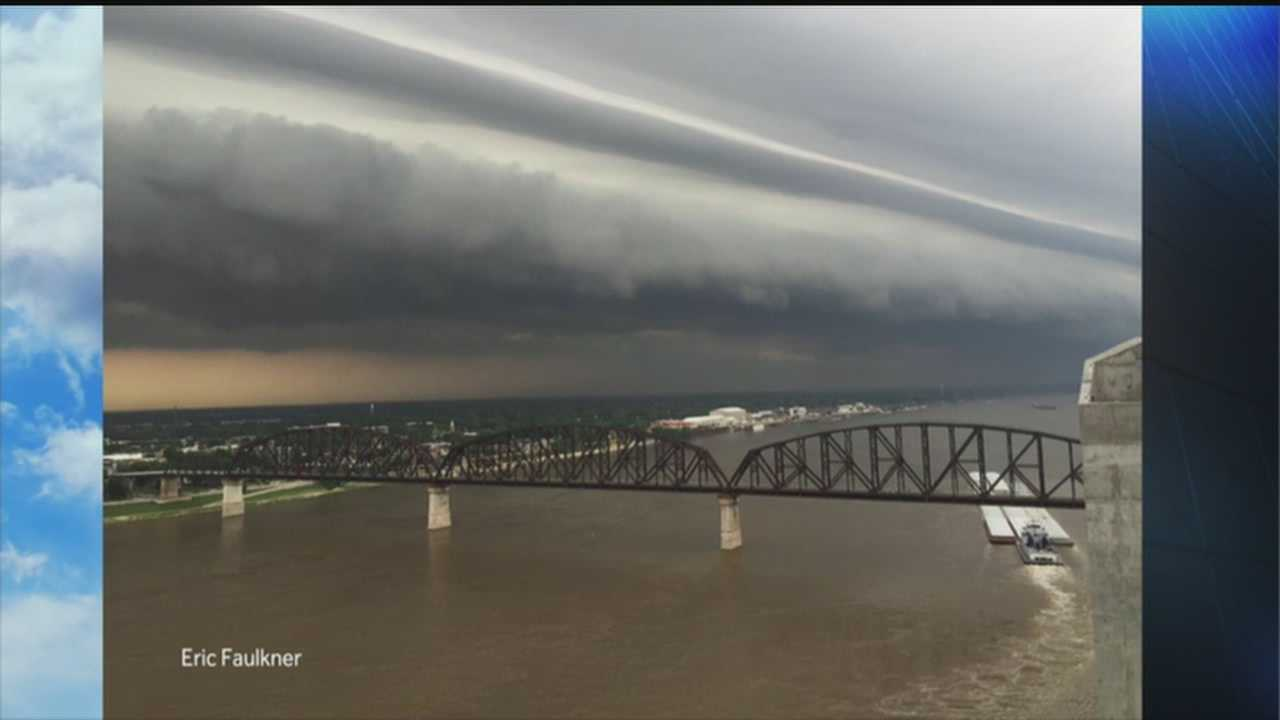 John Belski's look at Louisville's Shelf Clouds