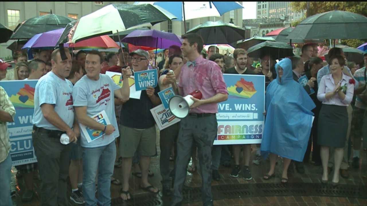 Louisville's LGBT community celebrates Supreme Court decision