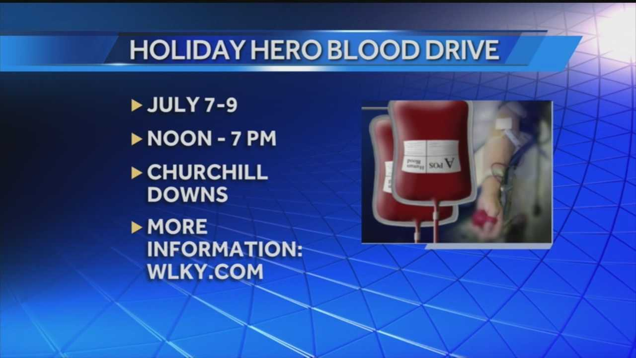 American Red Cross holds holiday hero blood drive