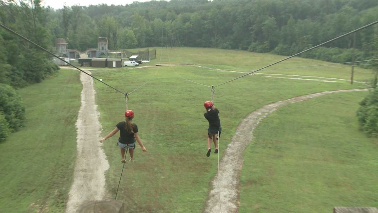 Camp designed for child cancer patients promotes fun while healing