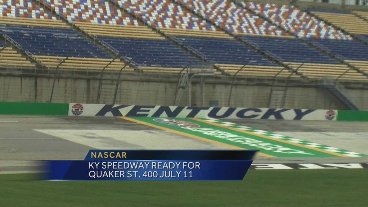 Kentucky Speedway ready for Quaker State 400