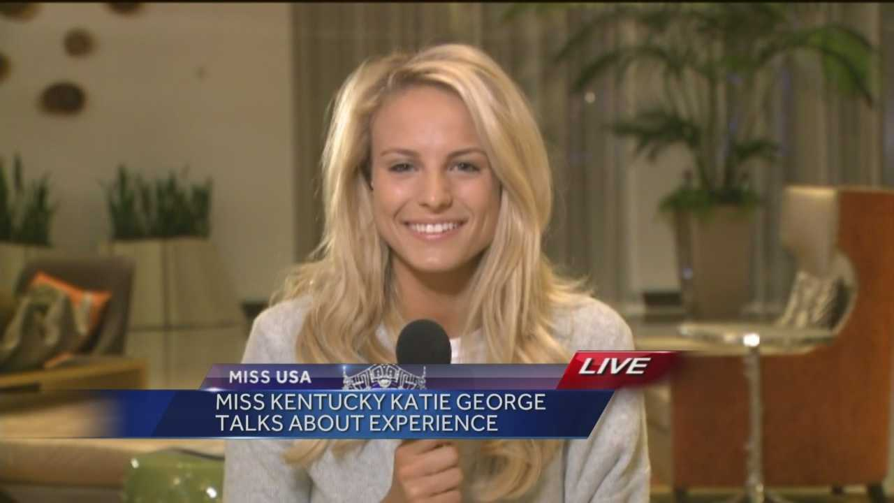 Miss Kentucky USA Katie George reflects on her experience in the Miss USA Pageant in a live interview the morning after the pageant.