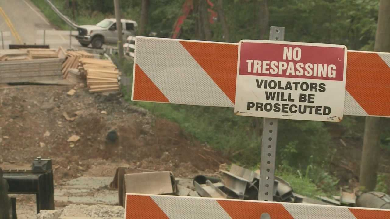 Recent rain threatens deadline for Brownsboro Road project