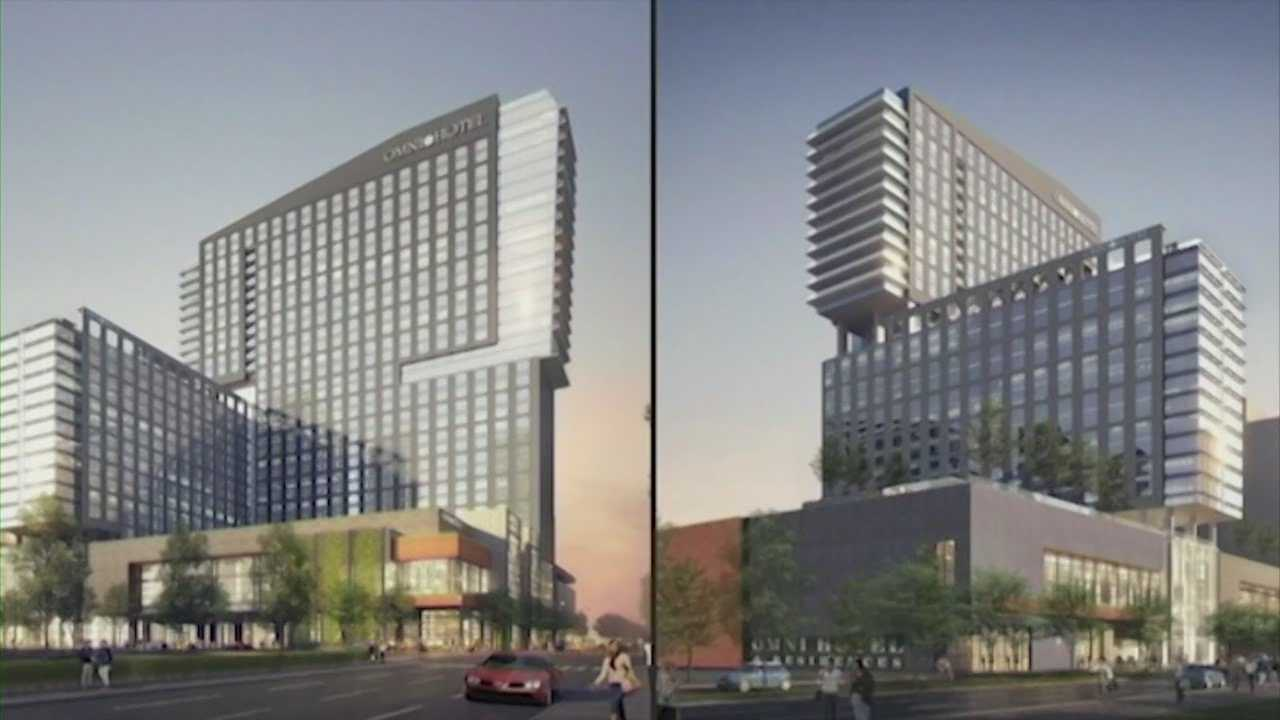 Omni Hotel archetecht receives criticism about design