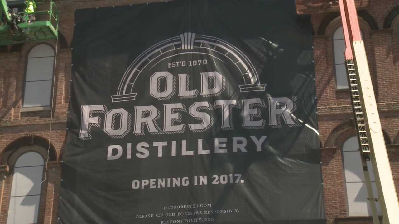 Old Forester Distillery coming to Louisville's Whiskey Row