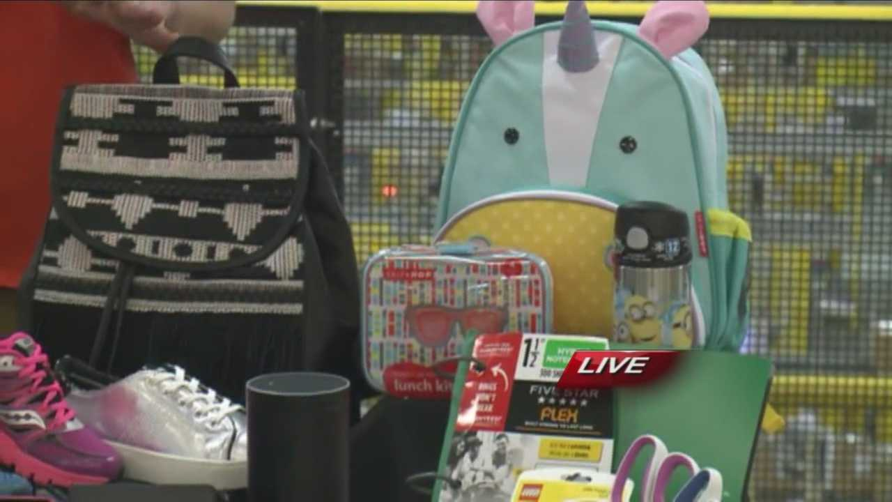 Students are heading back to school in the next few weeks, so back-to-school shopping is in full swing. What's hot for the 2015-2016 school year? Amazon's Nina Lindsey takes a look.