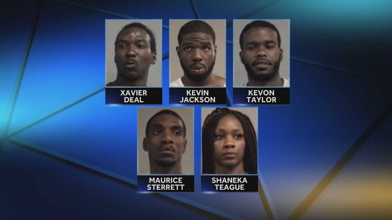 Five people are facing federal charges after agents said they used counterfeit money at a Walmart.