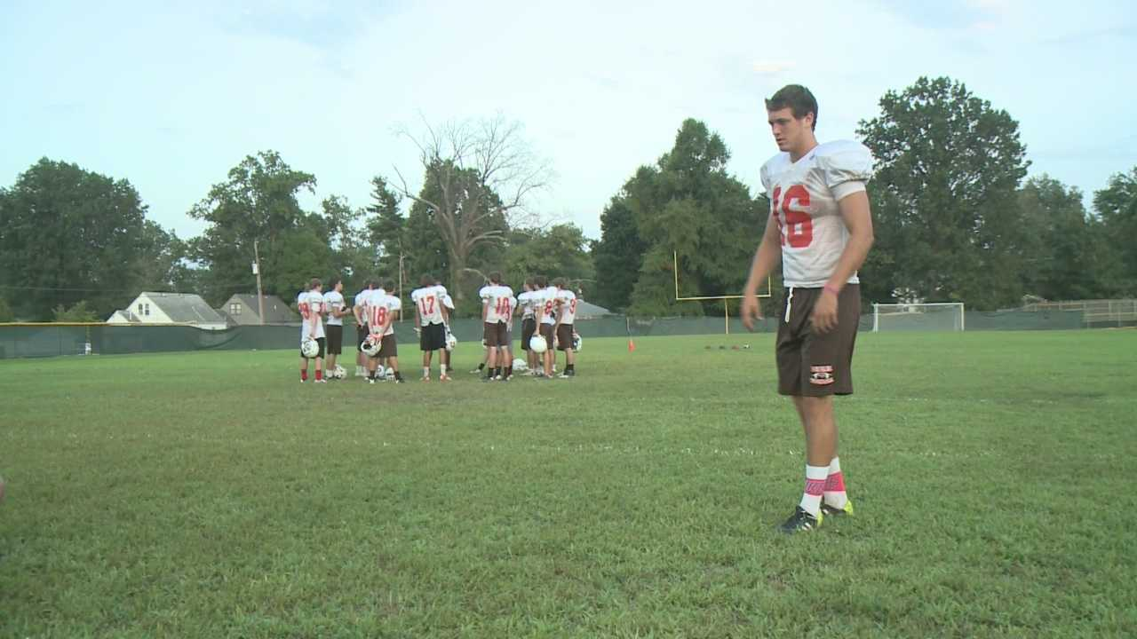 High School football player joins national fundraising initiative